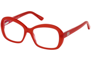 Balenciaga - Occhiale da Vista Donna, (Rosso Lucido) BA5085 066 54