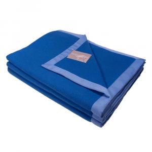 Coperta matrimoniale 210x250 cm MARZOTTO-LANEROSSI Soft blu