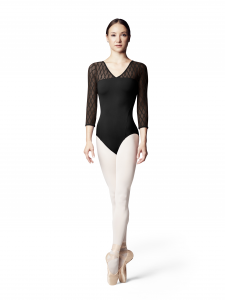 Body da danza classica  a maniche lunghe collezione Bloch A/I 18-19