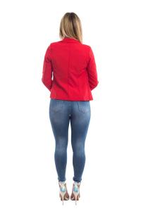 Giacca slimfit corta - colore Bianca