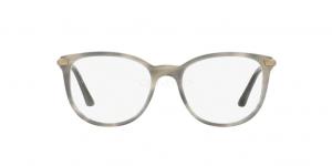 Burberry - Occhiale da Vista Donna, Striato Grigio BE 2255Q 3658 51