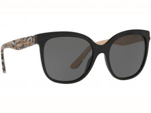 Burberry - Occhiale da Sole Donna, London England Black/Grey BE 4270 372887