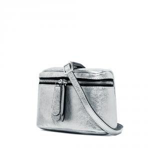 Borsa a Tracolla Galatea small argento - GIANNI CHIARINI