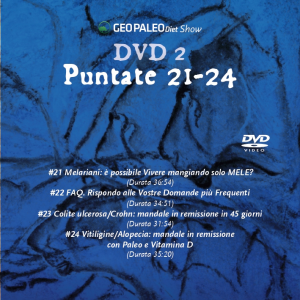 Le Regole di Tozzi - GeoPaleoDiet Show. DVD Video doppio - Puntate 17-24