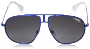 Carrera - Occhiale da Sole Bambino, Carrerino 21 9o Blu (Matt Bluee/Dark Grey SF) C54