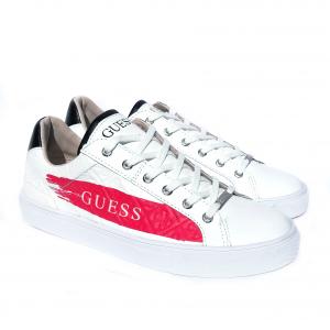 Sneaker bassa bianca Guess