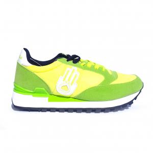 Sneaker lime/bianco Kamsa