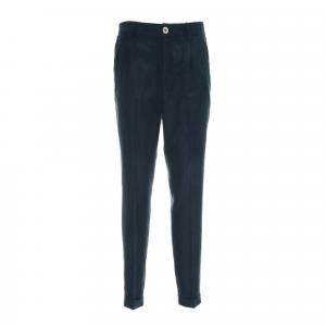 Pantalone blu tasca francese Nero Giardini