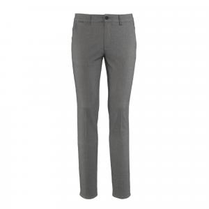 Pantalone grigio micro operato Nero Giardini