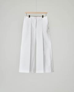 Pantaloni bianchi ampi