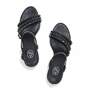 Sandali col tacco modello Hello colore nero - ASH