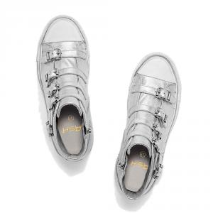 Sneakers in pelle modello VENUS color argento metallizzato - ASH