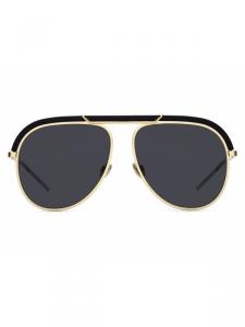 Christian Dior - Occhiale da Sole Unisex, Dior Desertic, Matte Black/Gold, 2M2/2K