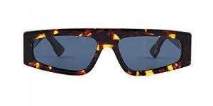 Christian Dior - Occhiale da Sole Donna, Dior Power 1, Dark/Havana Blue 086A9