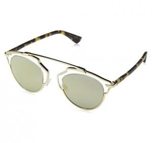 Christian Dior - Occhiale da Sole Donna, Dior So Real, Oro (Gold Havana/Sup Bronze Grey Speckled) MV YN1