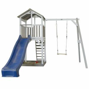 Beach Tower Single Swing per Bambini con altalena Axi Playhouse