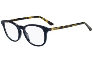 Christian Dior - Occhiale da Vista Donna, Dior Montaigne 41 VSW Blu (Blue Khaki)