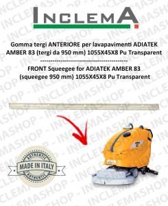 AMBER 83 gomma tergi ANTERIORE per lavapavimenti ADIATEK (tergi da 950 mm)