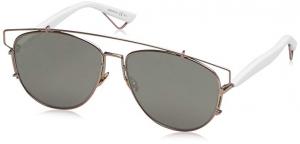Christian Dior - Occhiale da Sole Donna, Dior Technologic, Mtpink White TVG (0T)