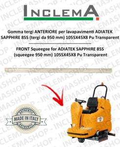 SAPPHIRE 85s gomma tergi ANTERIORE per lavapavimenti ADIATEK (tergi da 950 mm)