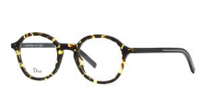 Christian Dior - Occhiale da Vista Uomo, Dior Black Tie, Blonde Havana Black 234 EPZ