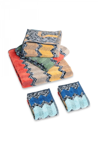 Missoni Bagno 5 pezzi - 2 asciugamani + 2 ospiti +  Telo doccia  WILFRED