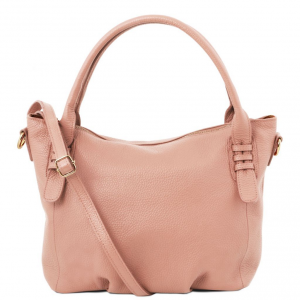 Tuscany Leather TL141705 TL Bag - Borsa a mano in pelle morbida Ballet Pink