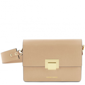 Tuscany Leather TL141742 Adele - Pochette in pelle Champagne