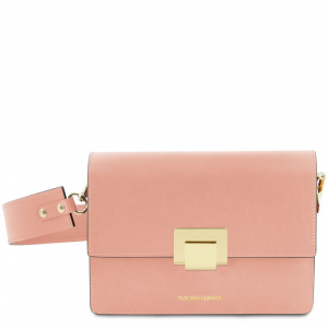Tuscany Leather TL141742 Adele - Pochette in pelle Ballet Pink
