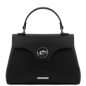Tuscany Leather TL141824 TL Bag - Bauletto in pelle Nero