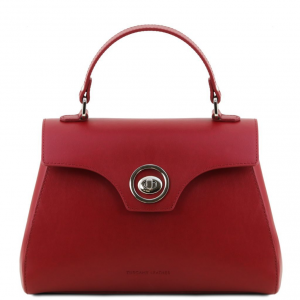Tuscany Leather TL141824 TL Bag - Bauletto in pelle Rosso