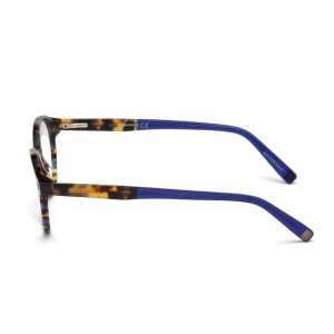 Dsquared2 - Occhiale da Vista Unisex, Dsquared2 DQ, Coloured Havana 5227 C49 055