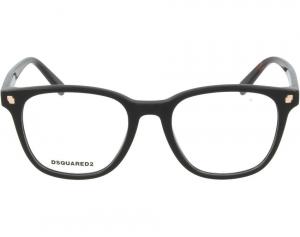 Dsquared2 - Occhiale da Vista Unisex, Dsquared2 DQ, Black 5228 C49 001