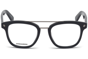 Dsquared2 - Occhiale da Vista Unisex, Dsquared2 DQ, Dark Blue 5232 C50 090