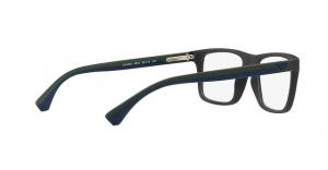 Emporio Armani - Occhiale da Vista Uomo, Blue/Green Rubber EA3034 5230 C53