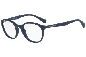 Emporio Armani - Occhiale da Vista Donna, Blue EA3079 5593 C49