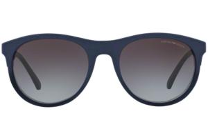 Emporio Armani - Occhiale da Sole Uomo, Blue Matte/Grey Gradient EA4084 50598G C56