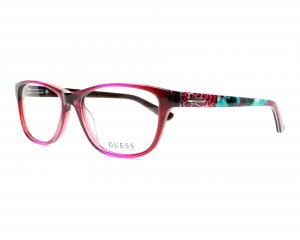 Guess - Occhiale da Vista Donna, Pink Mix GU 2513 074 C53