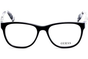 Guess - Occhiale da Vista Donna, Shiny Black GU 2559 001 C52