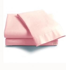 Lenzuola Matrimoniale puro cotone sotto con angoli ISTAR Maxi materassi cipria