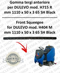 H715 R GOMMA TERGI lavapavimenti anteriore per DULEVO