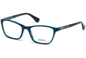 Guess - Occhiale da Vista Donna, Shiny Turquoise GU 2594 087 C49