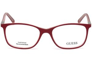 Guess - Occhiale da Vista Unisex, Shiny Red GU 3004 083 C53