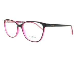 Guess - Occhiale da Vista Unisex, Matte Black/Dark Pink GU 3008 002 C51