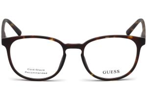 Guess - Occhiale da Vista Unisex, Dark Havana GU 3009 052 C49