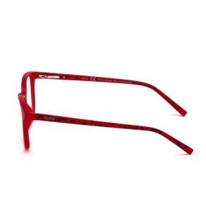 Guess - Occhiale da Vista Unisex, Matte Red GU 3009 067 C49