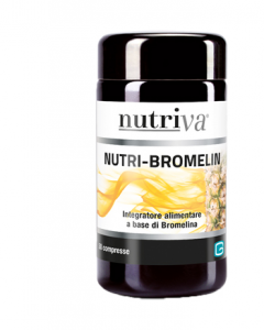 NUTRIVA NUTRI-BROMELIN INTEGRATORE DIGESTIONE 30 COMPRESSE