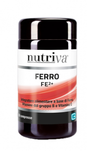NUTRIVA FERRO INTEGRATORE FERRO 50 COMPRESSE