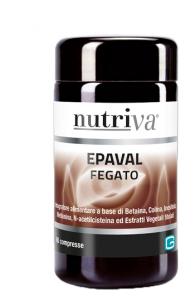 NUTRIVA EPAVAL INTEGRATORE FEGATO 60 COMPRESSE