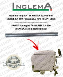 Gomma tergi ANTERIORE per Nilfisk CA 450